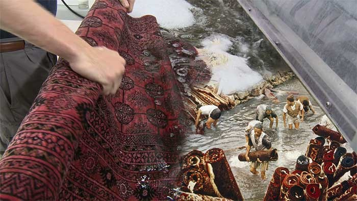 قدمت قالیشویی در ایران