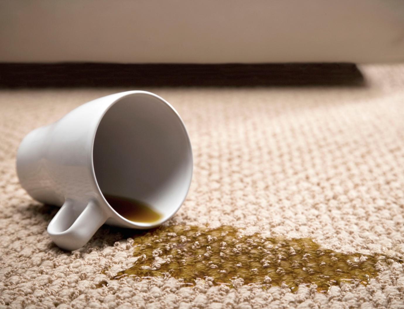 انواع لکهها و روشهای لکهگیری فرش
