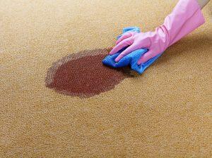 انواع لکههای فرش و حلال مناسب آنها