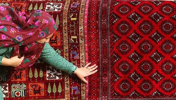 عمر و هنر در دل فرش ایرانی