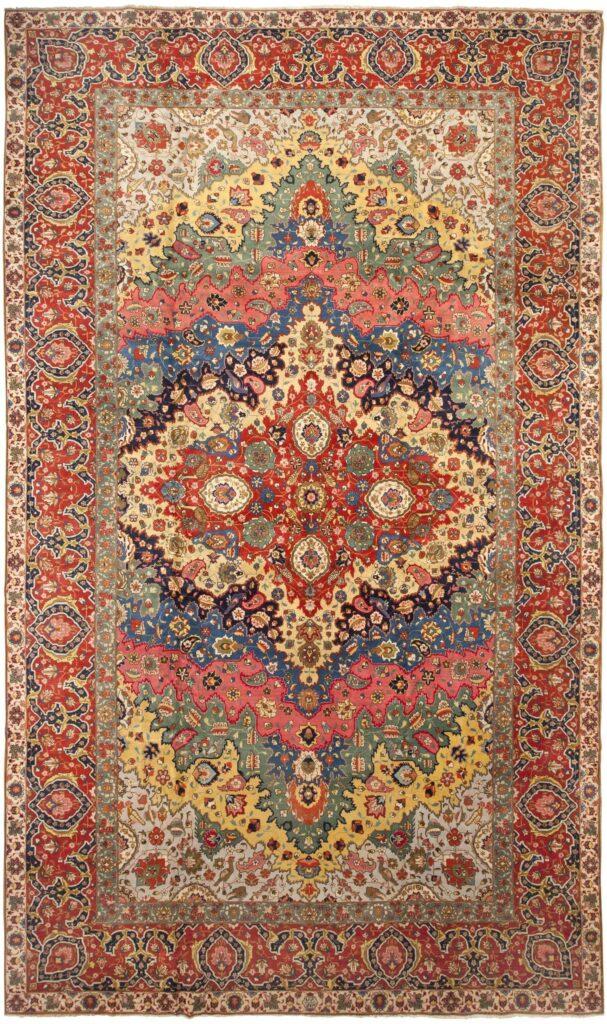 گذری بر تاریخ فرش ایرانی