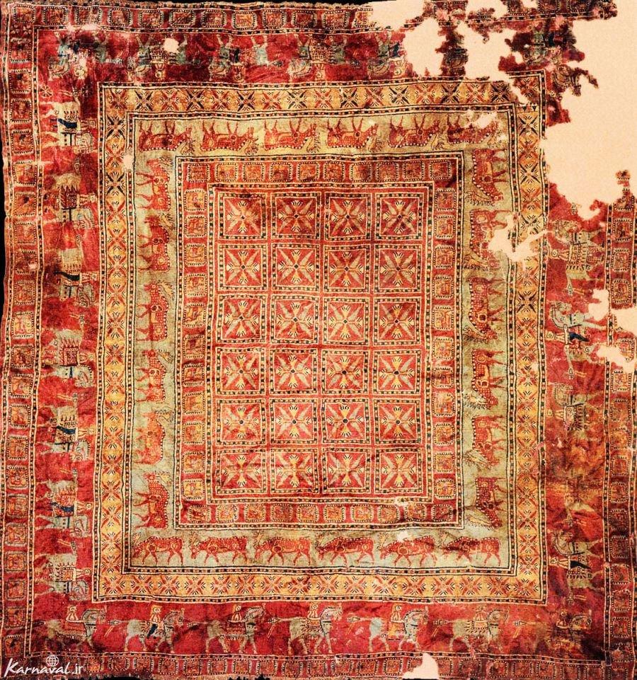 تاریخچه فرش ایرانی