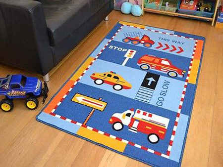 رنگ اسپرت قالی اتاق کودک