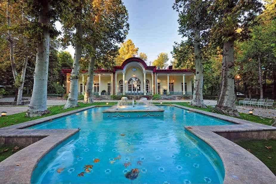 عمارت و باغ فرمانیه- سفارت ایتالیا در فرمانیه تهران