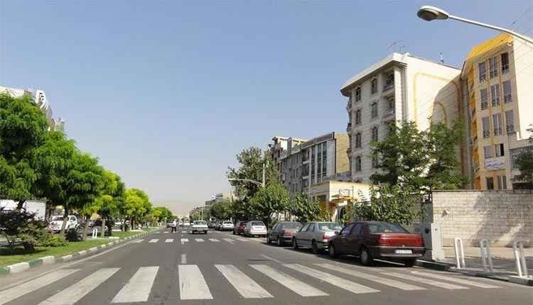 محله بلوار فردوس کجاست؟