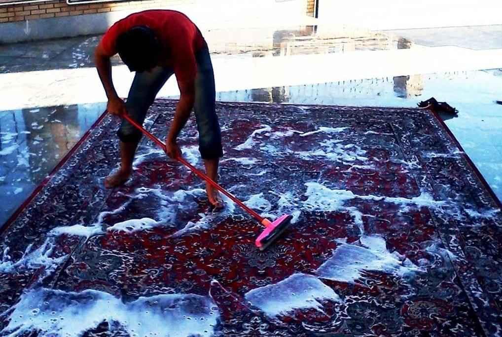 شستشوی اصولی فرش در منزل و در قالیشویی نزدیک پل صدر تهران