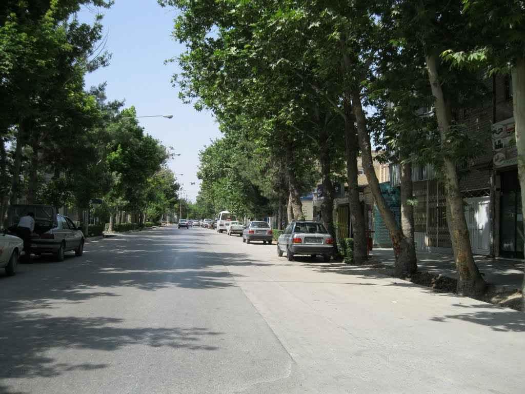 محله شریعتی تهران کجاست؟